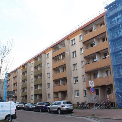 2018, Komplettsanierung Wohnhaus Marienstraße, Dessau Nord