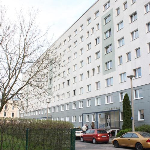 2016/17/18, Strangsanierung eines Wohnhauses in der Ferdinand-von-Schill-Straße, Dessau Zentrum
