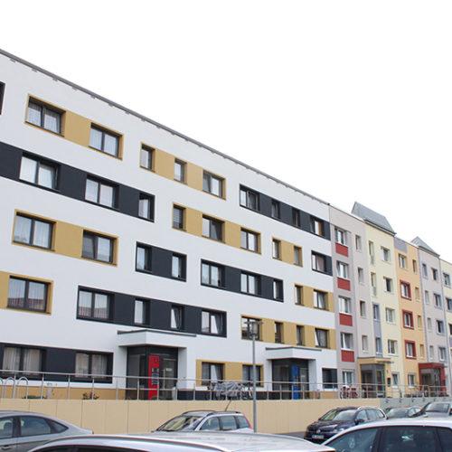 2017, Komplettsanierung Wohnhaus in der Wolfframsdorfstraße, Dessau Nord