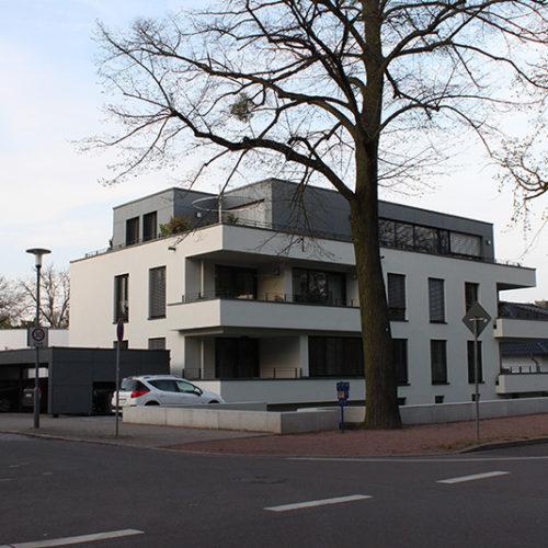 2016 Neubau Wohn- und Geschäftshaus in der Ebertallee, Dessau Ziebigk