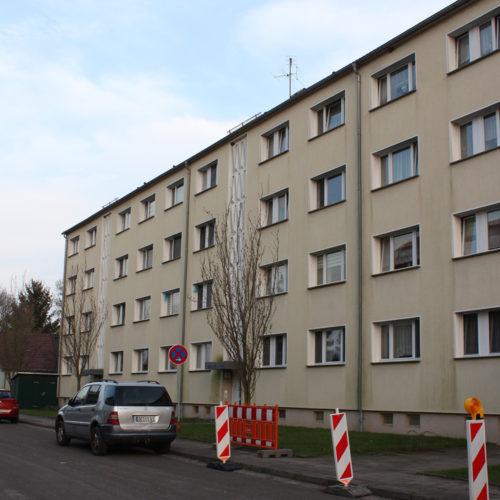 2016/17 Strang- und Kellersanierung von zwei Wohnhäusern in der Knobelsdorffallee, Dessau Mosigkau